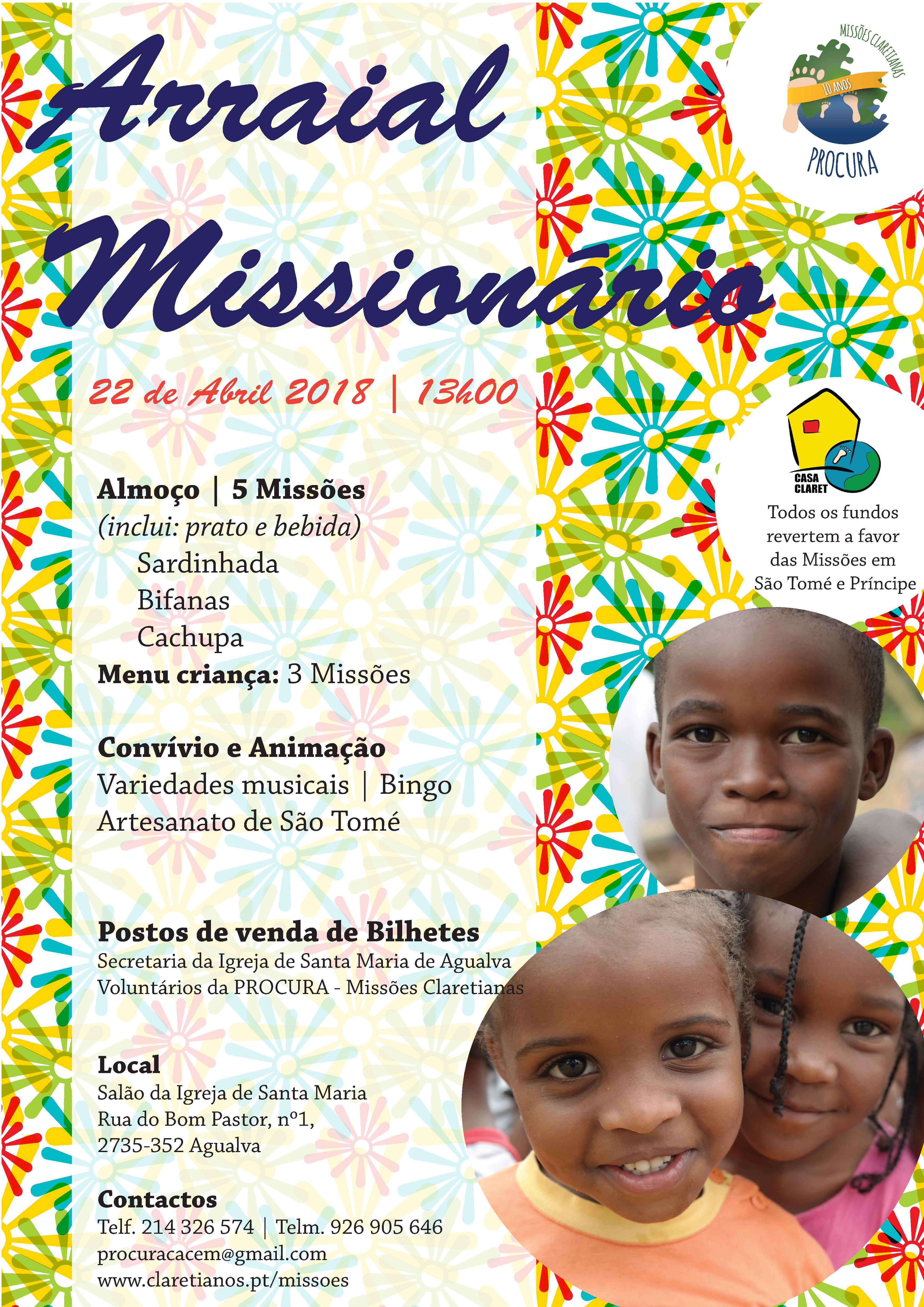 2018 04 22 Arraial Missionário